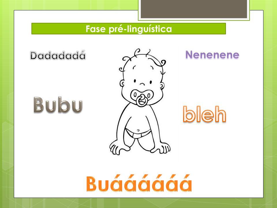 Fase pré-linguística