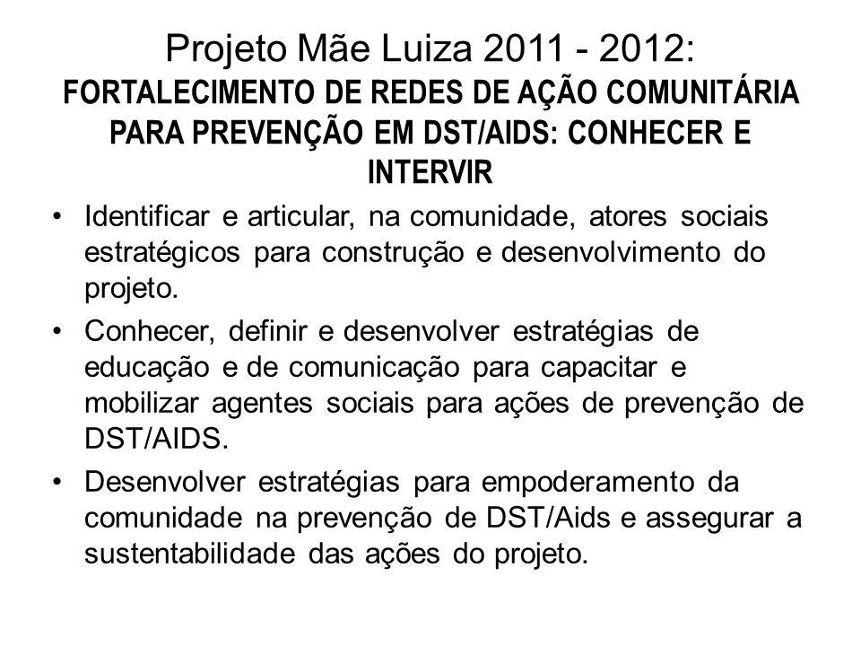 Identificar e articular, na comunidade, atores sociais estratégicos para construção e desenvolvimento do projeto.