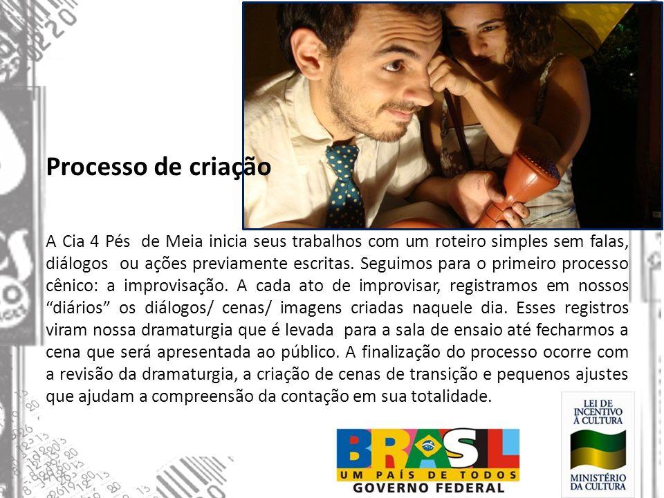Contato Cia 4 pés de meia Fábio Figueiredo – Produtor Cultural Telefone: 11 9846 2060 11 7168 6800 E-mail: quatropesdemeia@gmail.com Blog: cia4pesdemeia.blogspot.com