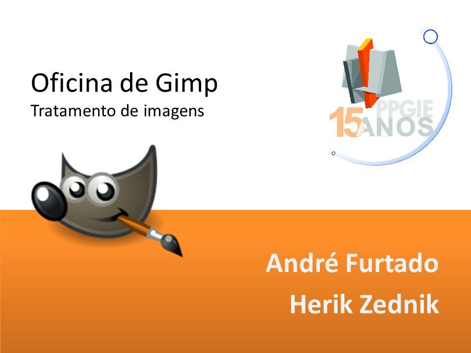 Oficina de Gimp Tratamento de imagens André Furtado Herik Zednik