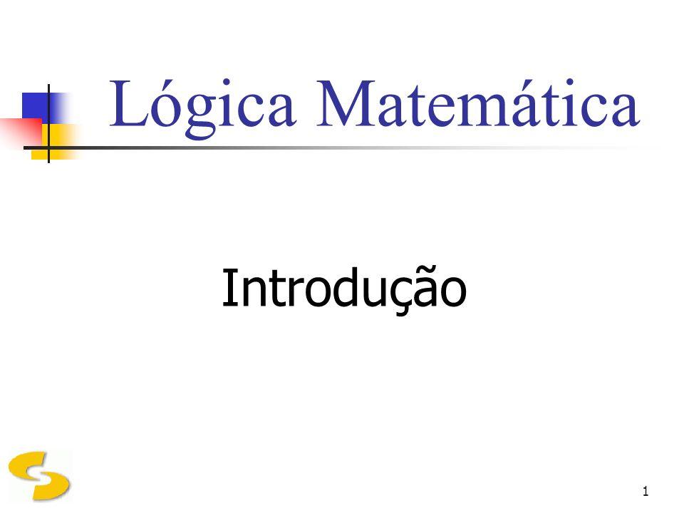2 Definição A Lógica tem, por objeto de estudo, as leis gerais do pensamento, e as formas de aplicar essas leis corretamente na investigação da verdade.