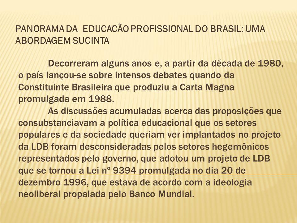 Decorreram alguns anos e, a partir da década de 1980, o país lançou-se sobre intensos debates quando da Constituinte Brasileira que produziu a Carta M