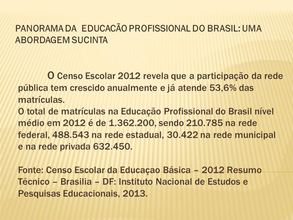 O Censo Escolar 2012 revela que a participação da rede pública tem crescido anualmente e já atende 53,6% das matrículas. O total de matrículas na Educ