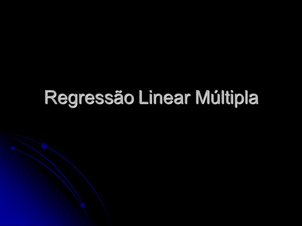 Regressão Linear Múltipla