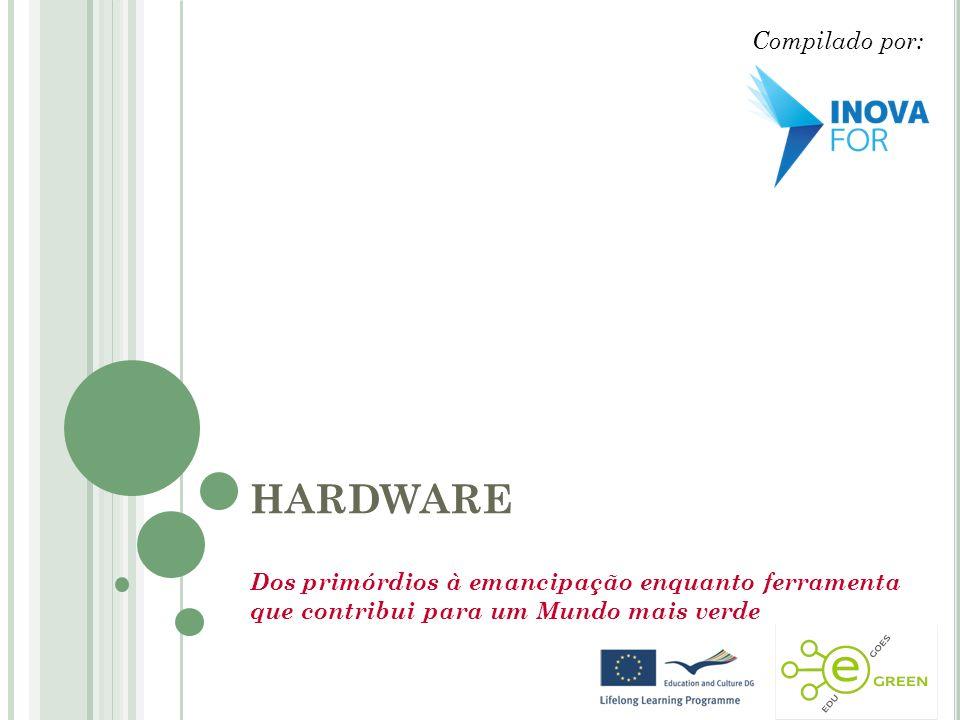 C ONTEÚDOS Definição História e Desenvolvimento TIC Verdes Hardware enquanto ferramenta que contribui para um Mundo mais verde: Exemplos práticos Boas Práticas