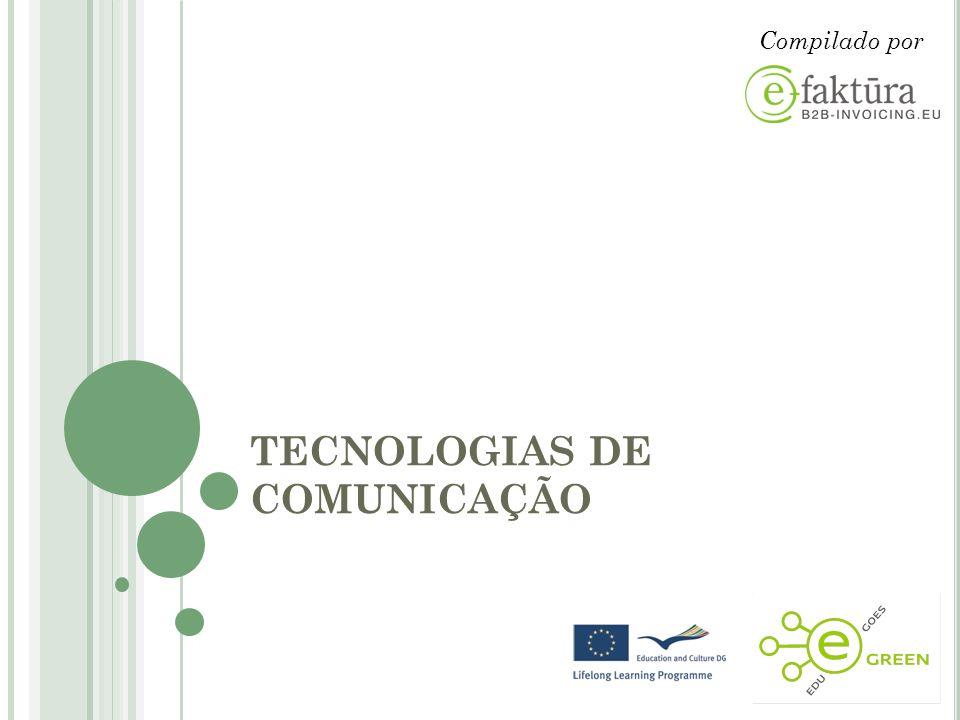 TECNOLOGIAS DE COMUNICAÇÃO Compilado por