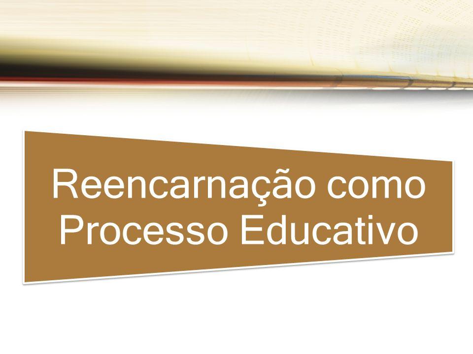 Reencarnação como Processo Educativo