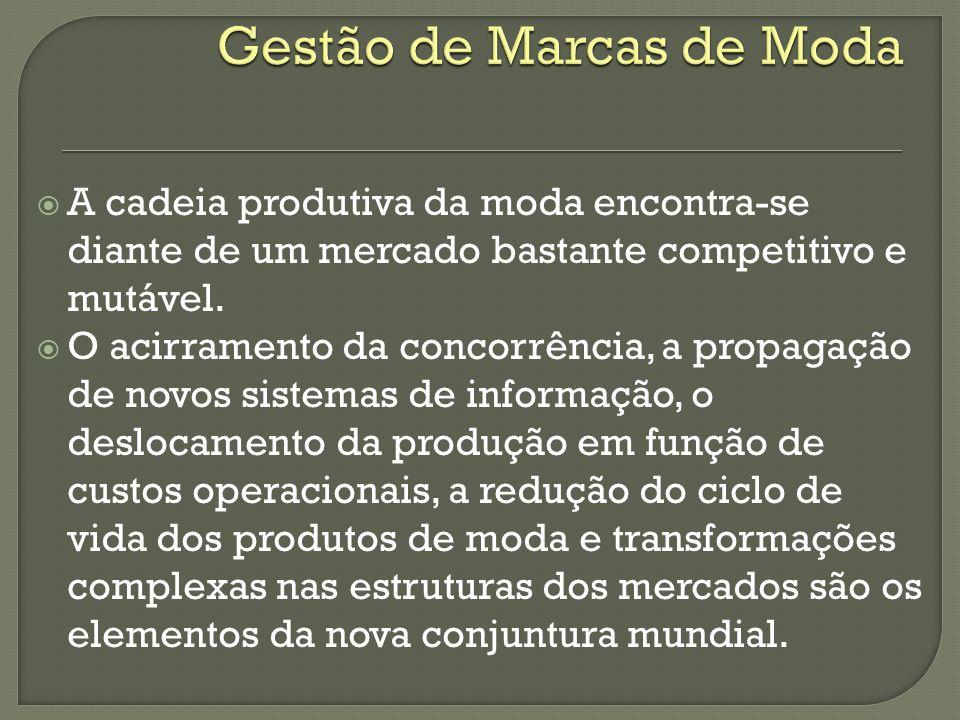 Um produto de moda engloba uma relação equilibrada custo/benefício, cumprimento de prazo, abrangência da cadeia produtiva da fabricação até ao consumo.