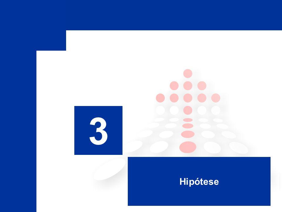 3 Hipótese