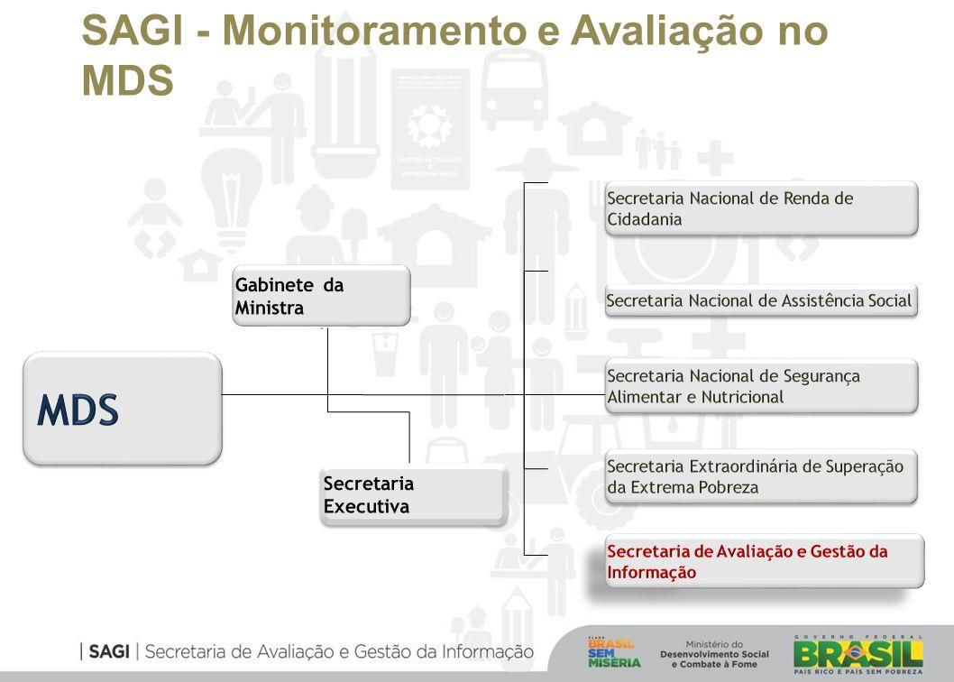 SAGI - Monitoramento e Avaliação no MDS