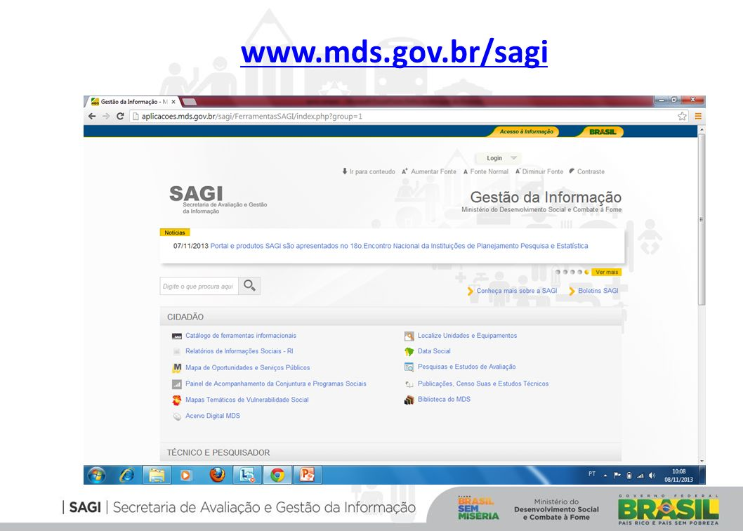 www.mds.gov.br/sagi