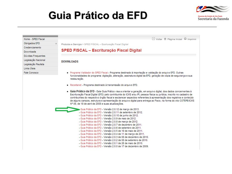 Poderão assinar a EFD: e-CNPJ que contenha a mesma base do CNPJ do estabelecimento e-CPF do representante legal da empresa no cadastro CNPJ Pessoa Física ou Pessoa Jurídica com procuração eletrônica cadastrada no site da RFB EFD-ICMS/IPI e-CNPJ, e-PJ e-CPF, e-PF e-CNPJ, e-PJ e-CPF, e-PF A1 ou A3 NF-e / CT-e e-CNPJ, e-PJ A1 ou A3 ECD e-CPF, e-PF A3 Quem pode assinar a EFD?