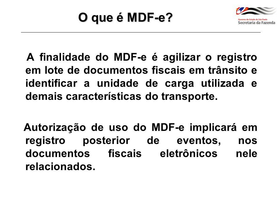Secretaria Fazenda RS A cada transporte ou alteração da carga quem transporta deve solicitar autorização de uso do MDF-e à SEFAZ (RS) Recepção antes do Transporte Envia MDFe MDFe Modelo operacional do MDF-e