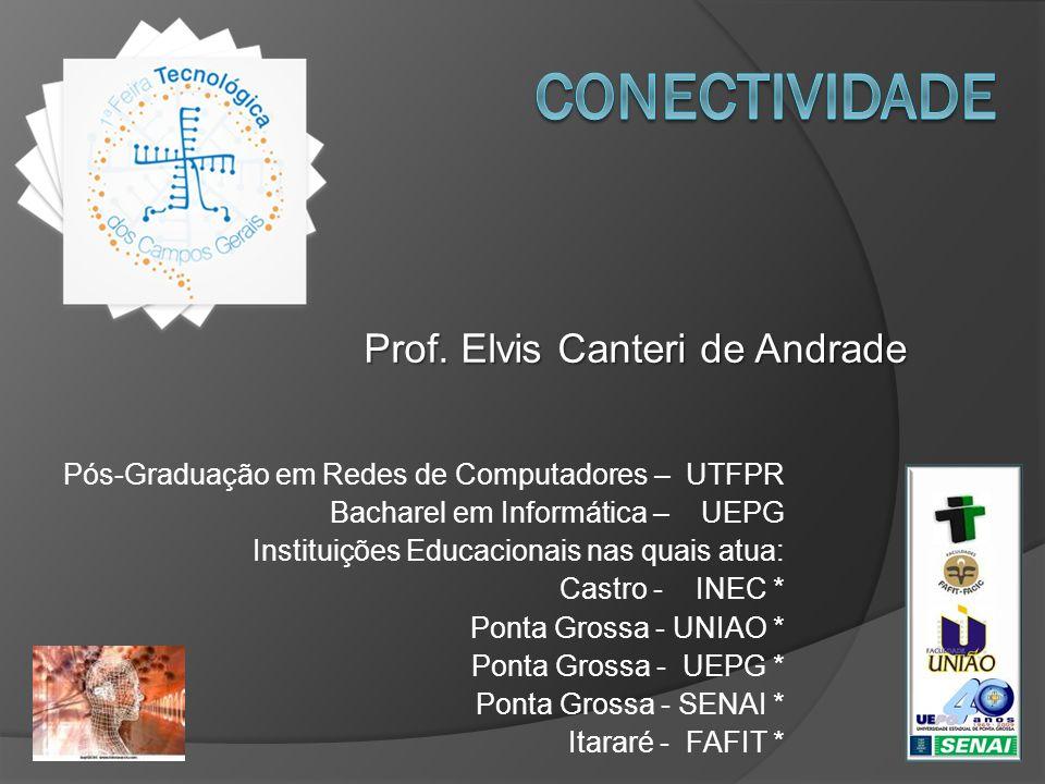 Pós-Graduação em Redes de Computadores – UTFPR Bacharel em Informática – UEPG Instituições Educacionais nas quais atua: Castro - INEC * Ponta Grossa -