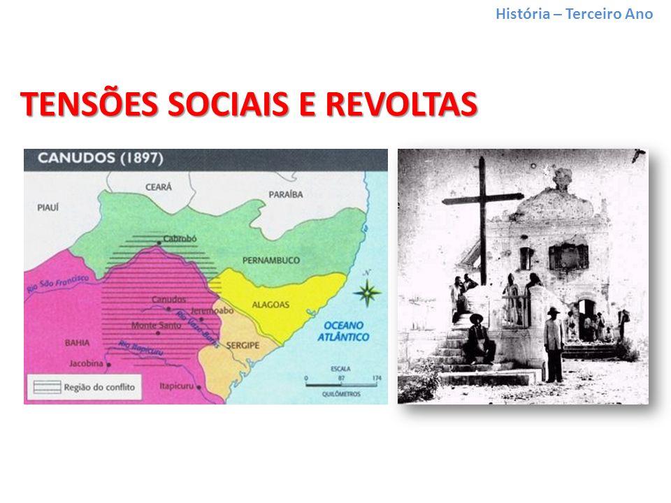História – Terceiro Ano TENSÕES SOCIAIS E REVOLTAS