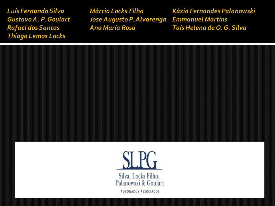 Luís Fernando Silva Márcio Locks FilhoKázia Fernandes Palanowski Gustavo A. P. GoulartJose Augusto P. AlvarengaEmmanuel Martins Rafael dos SantosAna M