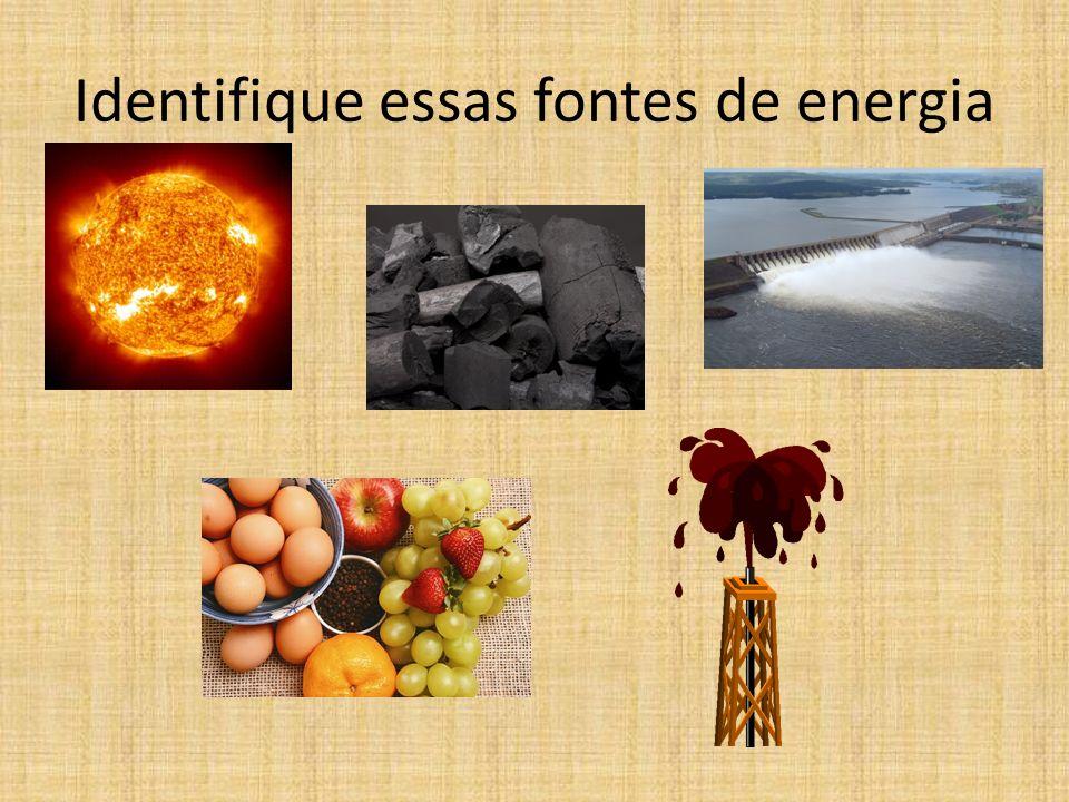 Depois da atuação do homem, as fontes primárias de energia são transformadas em calor, movimento, aos quais chamamos de energia secundária. Ao chegar