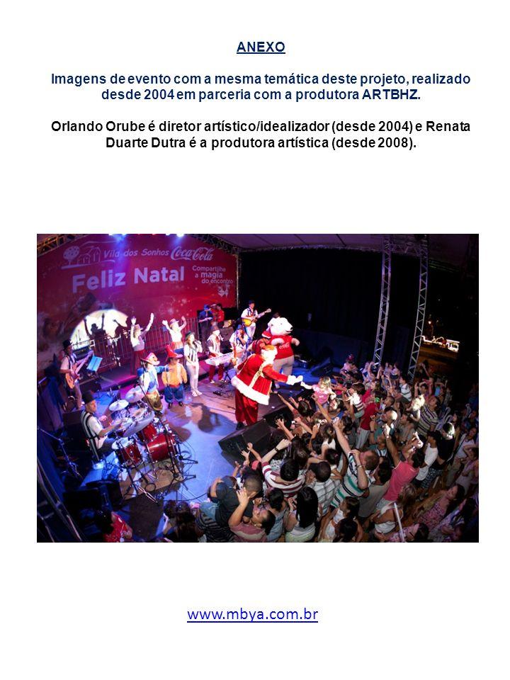 ANEXO Imagens de evento com a mesma temática deste projeto, realizado desde 2004 em parceria com a produtora ARTBHZ. Orlando Orube é diretor artístico