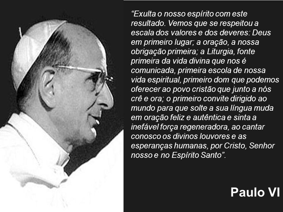 ESTRUTURA DA SACROSANCTUM CONCILIUM Dizer a que liturgia se quer chegar: a natureza da Liturgia.