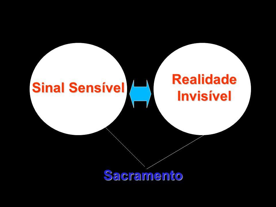 Sacramento Sinal Sensível Realidade Invisível