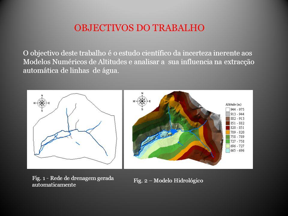 O objectivo deste trabalho é o estudo científico da incerteza inerente aos Modelos Numéricos de Altitudes e analisar a sua influencia na extracção aut