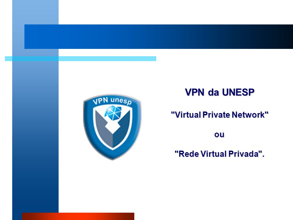 VPN da UNESP