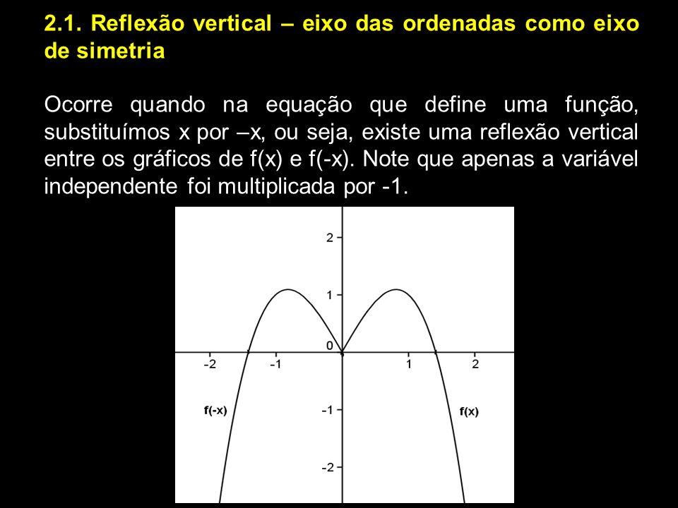 2. AS TRANSFORMAÇÕES ISOMÉTRICAS E OS GRÁFICOS DAS FUNÇÕES Na matemática, o uso dessas transformações no plano pode ser instrumento valioso como auxíl