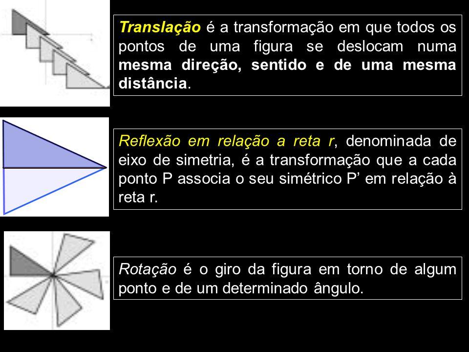 1 TRANSFORMAÇÕES GEOMÉTRICAS ISOMÉTRICAS Podemos definir uma transformação geométrica em um plano como uma correspondência um a um entre pontos do pla