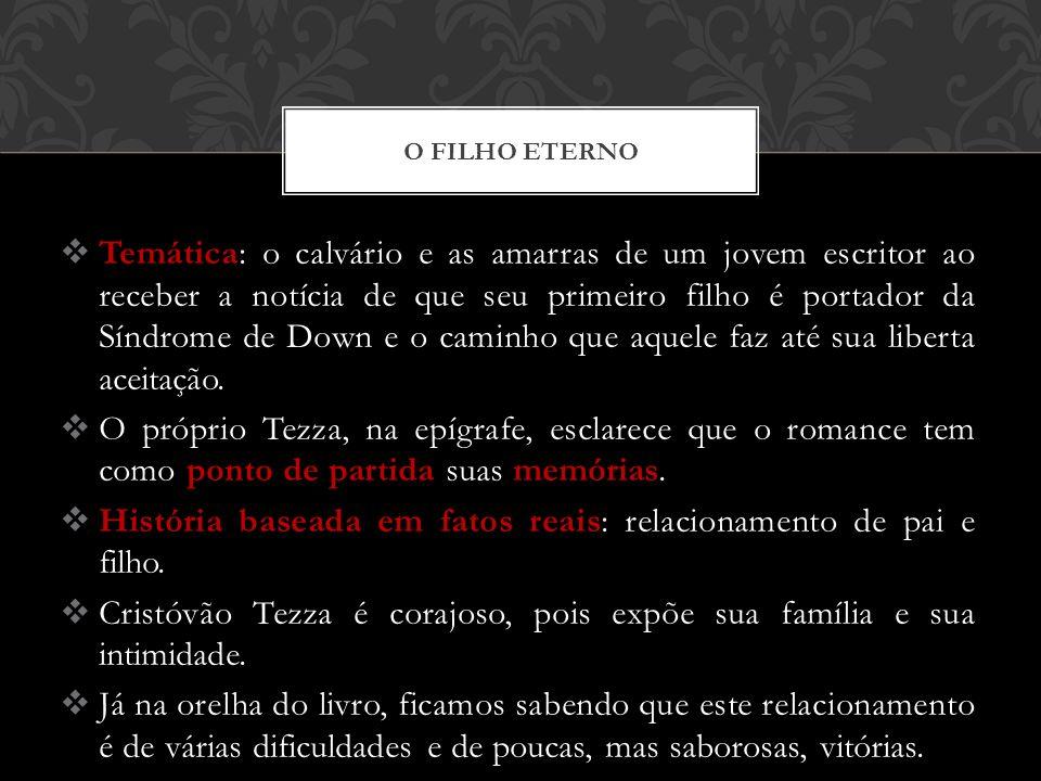 Personagens: Felipe, o pai, a mulher, a mãe, a filha, a irmã apenas o filho tem nome.