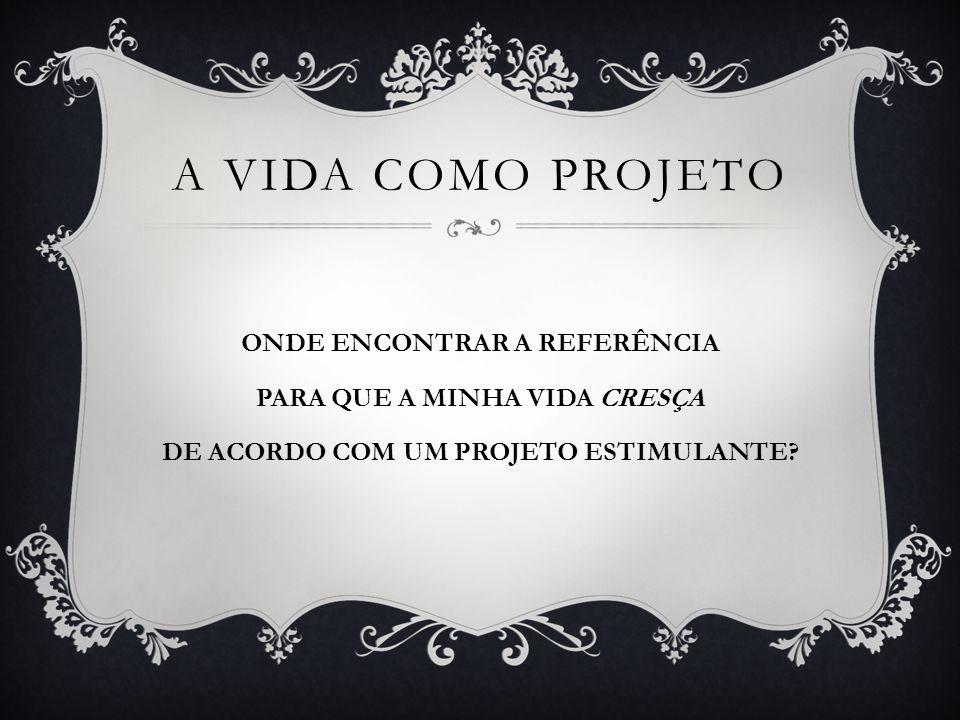 ONDE ENCONTRAR REFERÊNCIAS VIVAS.