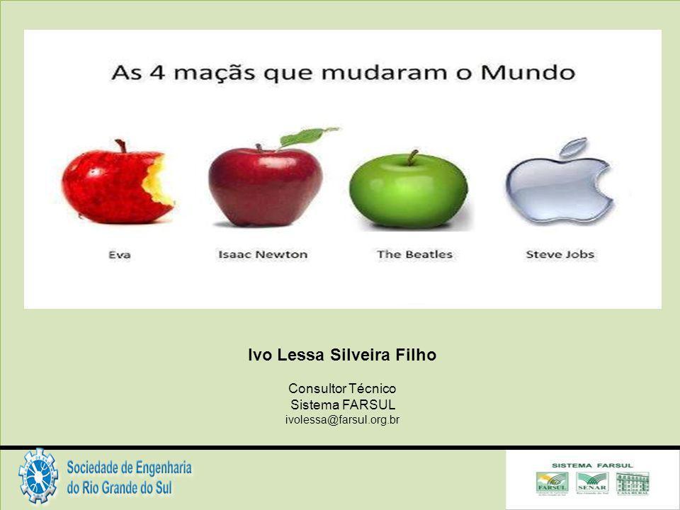 Ivo Lessa Silveira Filho Consultor Técnico Sistema FARSUL ivolessa@farsul.org.br