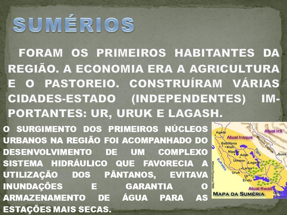 O SURGIMENTO DOS PRIMEIROS NÚCLEOS URBANOS NA REGIÃO FOI ACOMPANHADO DO DESENVOLVIMENTO DE UM COMPLEXO SISTEMA HIDRÁULICO QUE FAVORECIA A UTILIZAÇÃO DOS PÂNTANOS, EVITAVA INUNDAÇÕES E GARANTIA O ARMAZENAMENTO DE ÁGUA PARA AS ESTAÇÕES MAIS SECAS.