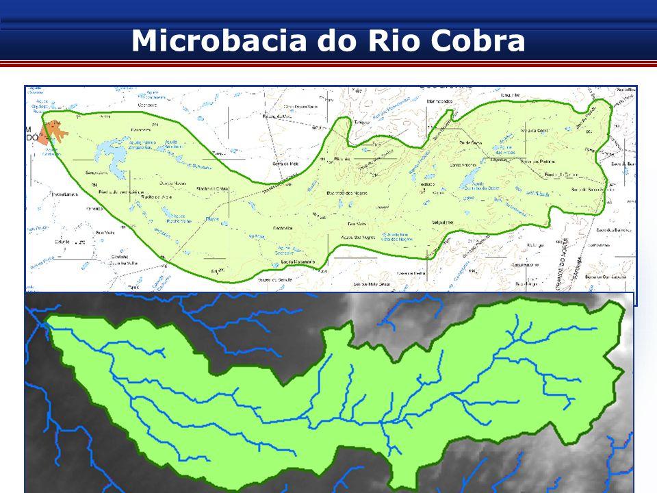 SEMARH / PSP: PROGRAMA DE DESENVOLVIMENTO SUSTENTÁVEL E CONVIVÊNCIA COM O SEMI-ARIDO POTIGUAR Microbacia do Rio Cobra 4. Comparação entre as metodolog