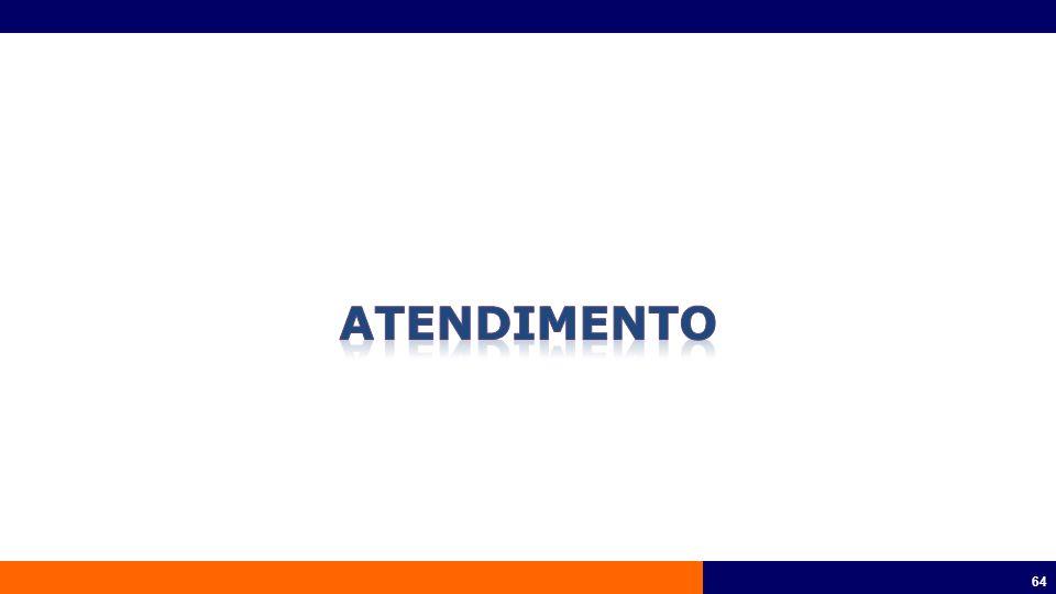 65 Atendimento Personalizado Central de Serviços 24 Horas UDA – Unidade Descentralizadas de Atendimentos SulAmérica Saúde Online Terminais de Auto Atendimento
