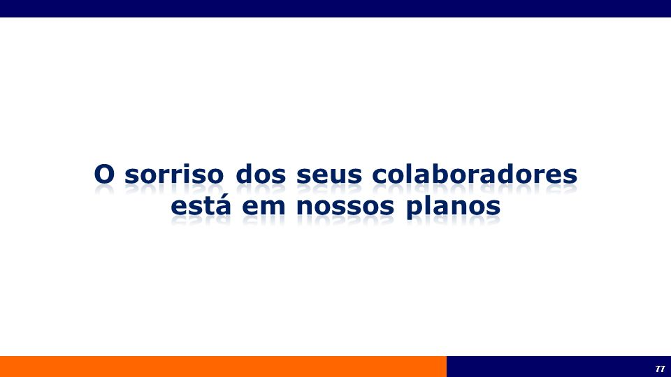 78 Lançamento do Produto 10/09/2012 Os produtos odontológicos do portfólio anterior serão aceitos até: 28/09/2012 Empresarial: Respeitada a validade do estudo PME: respeitada a data de quitação até 28/09/2012