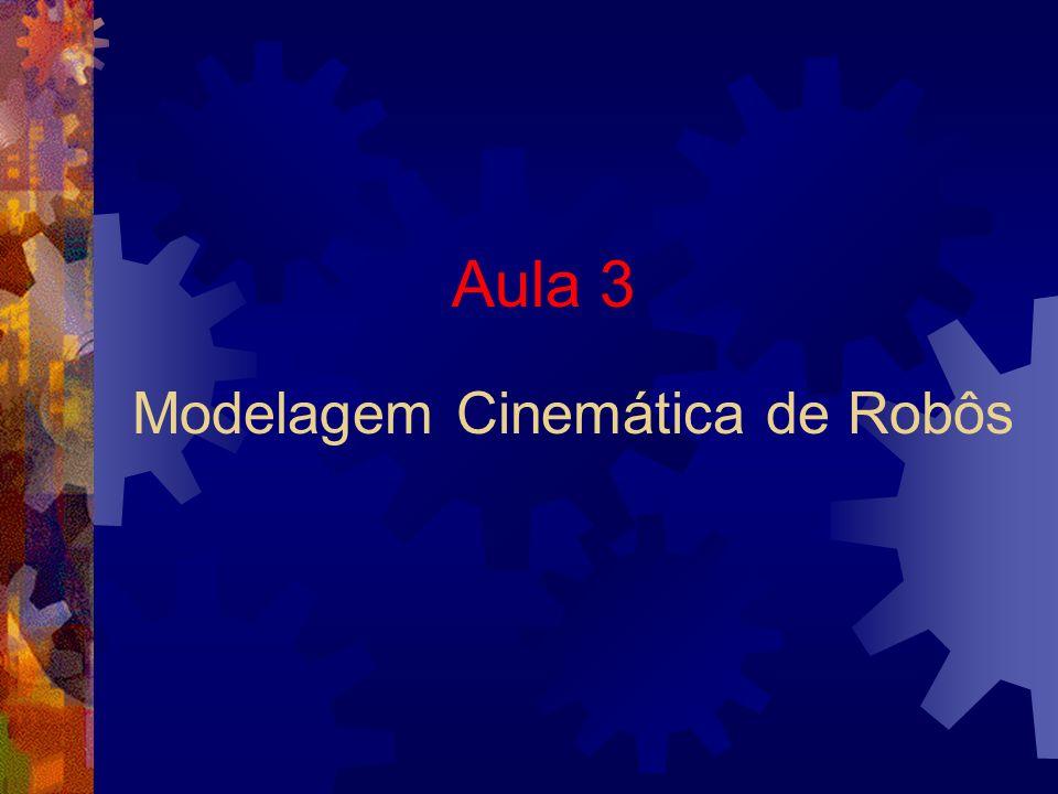 Aula 3 Modelagem Cinemática de Robôs