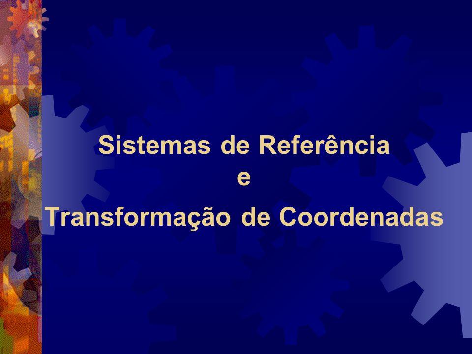 Sistemas de Referência e Transformação de Coordenadas