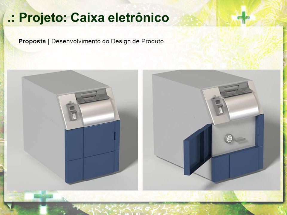 Proposta | Desenvolvimento do Design de Produto.: Projeto: Caixa eletrônico