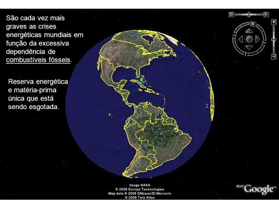 TM-024 - Geração de Energia São cada vez mais graves as crises energéticas mundiais em função da excessiva dependência de combustíveis fósseis.
