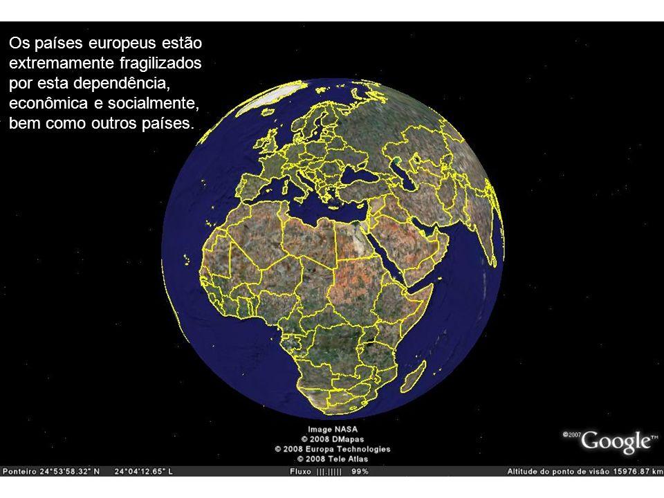 TM-024 - Geração de Energia Os países europeus estão extremamente fragilizados por esta dependência, econômica e socialmente, bem como outros países.