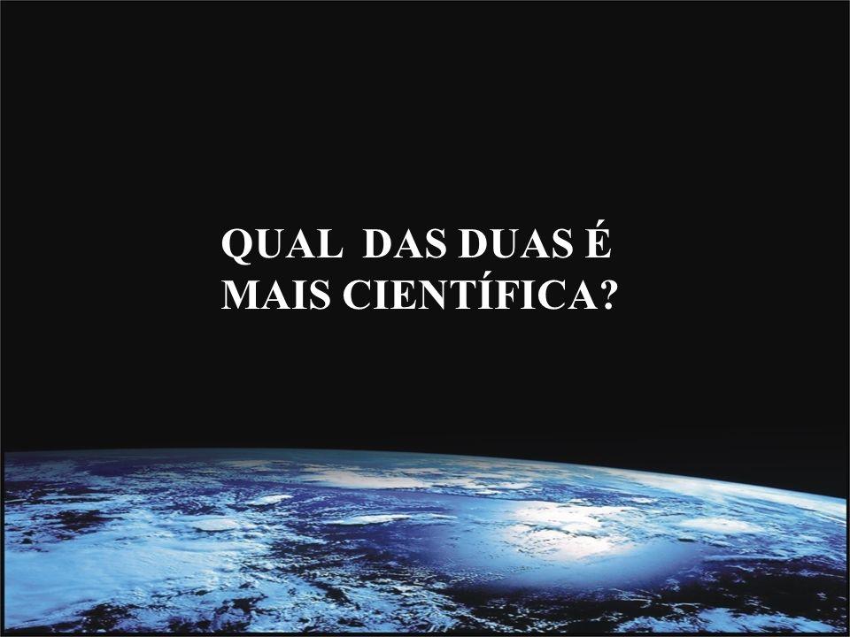 Desse modo, usando um raciocínio causal, o criacionista teísta observa que: