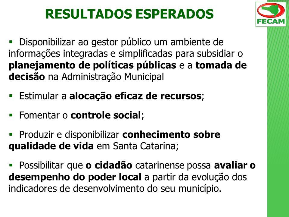 Disponibilizar ao gestor público um ambiente de informações integradas e simplificadas para subsidiar o planejamento de políticas públicas e a tomada