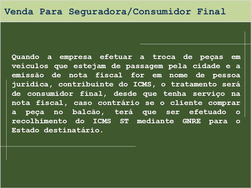 Regime Especial - Restituição/Ressarcimento A empresa poderá solicitar junto a Receita Estadual de SC, com base no art.