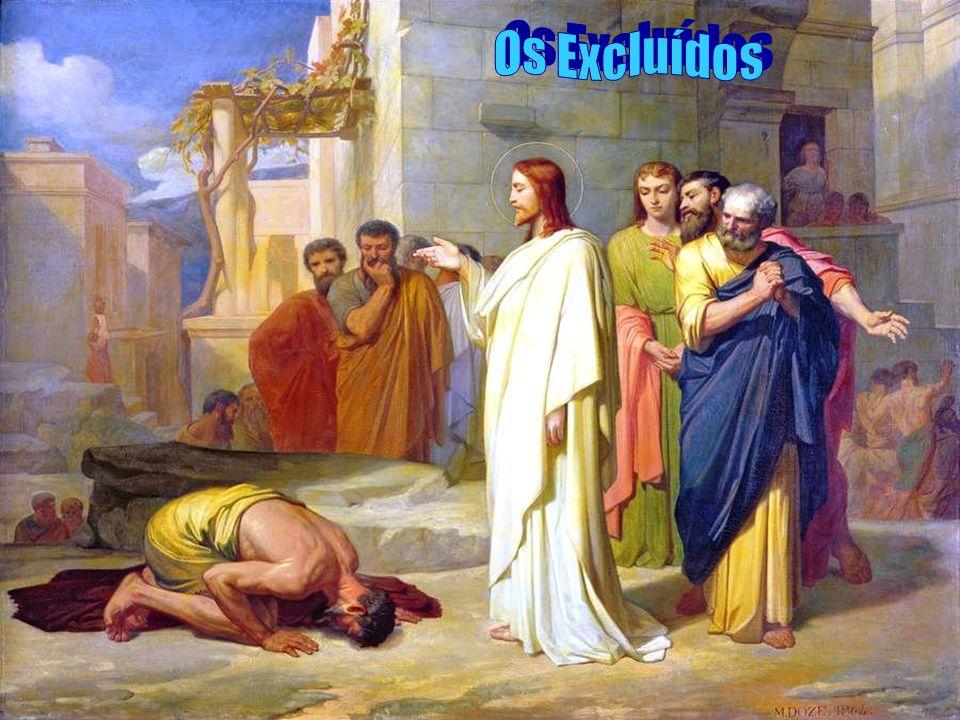 Os leprosos de hoje...Infelizmente a lepra ainda hoje existe em nossa sociedade e na Igreja.