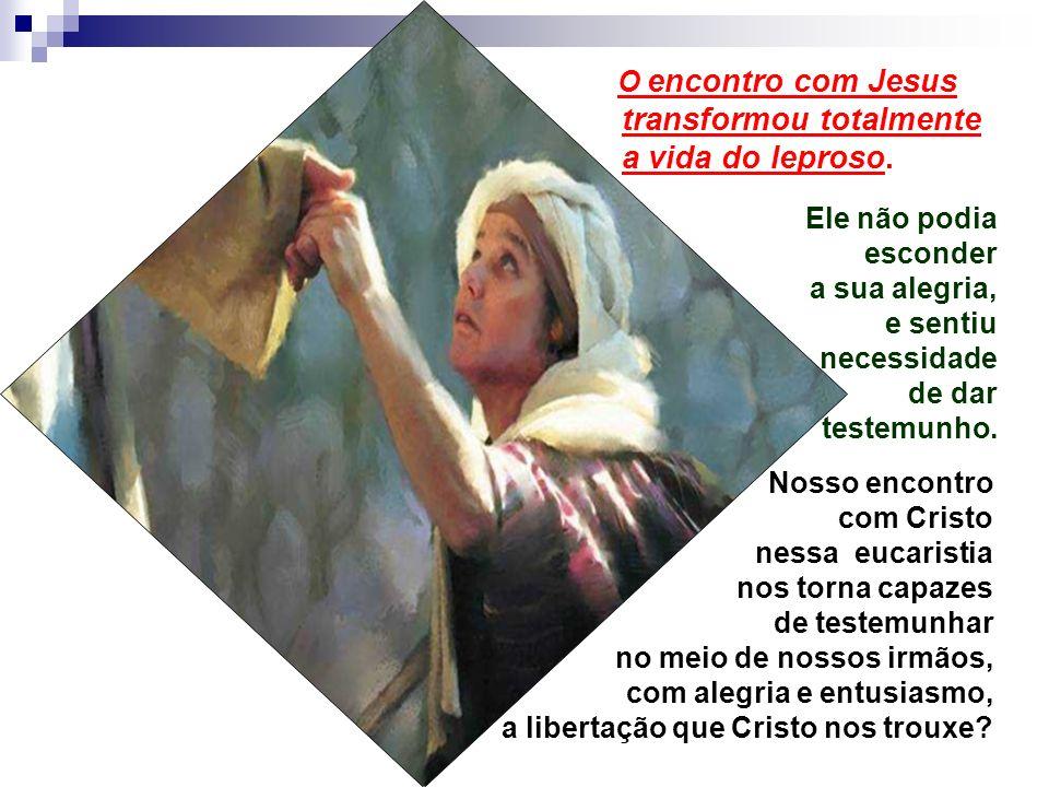 - A cura da lepra era um Sinal dos tempos messiânicos... No Antigo Testamento, só dois profetas tinham curado a lepra: Moisés (sua irmã Maria) e Elise