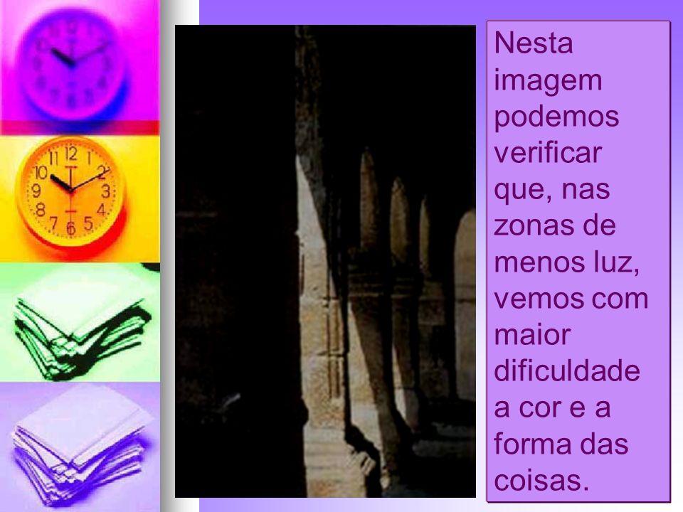 Luz A luz branca do Sol (luz natural) ou a de uma lâmpada eléctrica (luz artificial) ao atravessar as gotas de água num dia de chuva desdobra-se em sete cores vermelho, magenta, alaranjado, amarelo, verde, azul indigno e violeta, formando o a aa arco-íris.