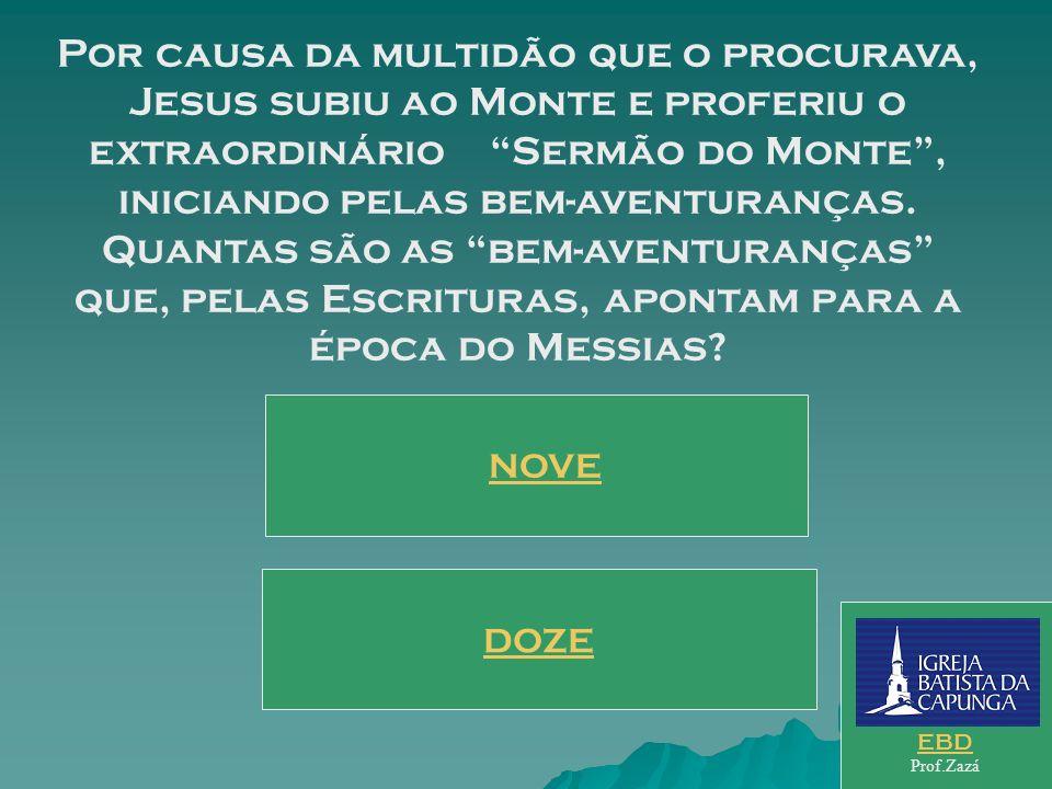 Todas as respostas Certas VENCEU o Jogo. Evangelize. Use seus conhecimentos. EBD Prof.Zazá