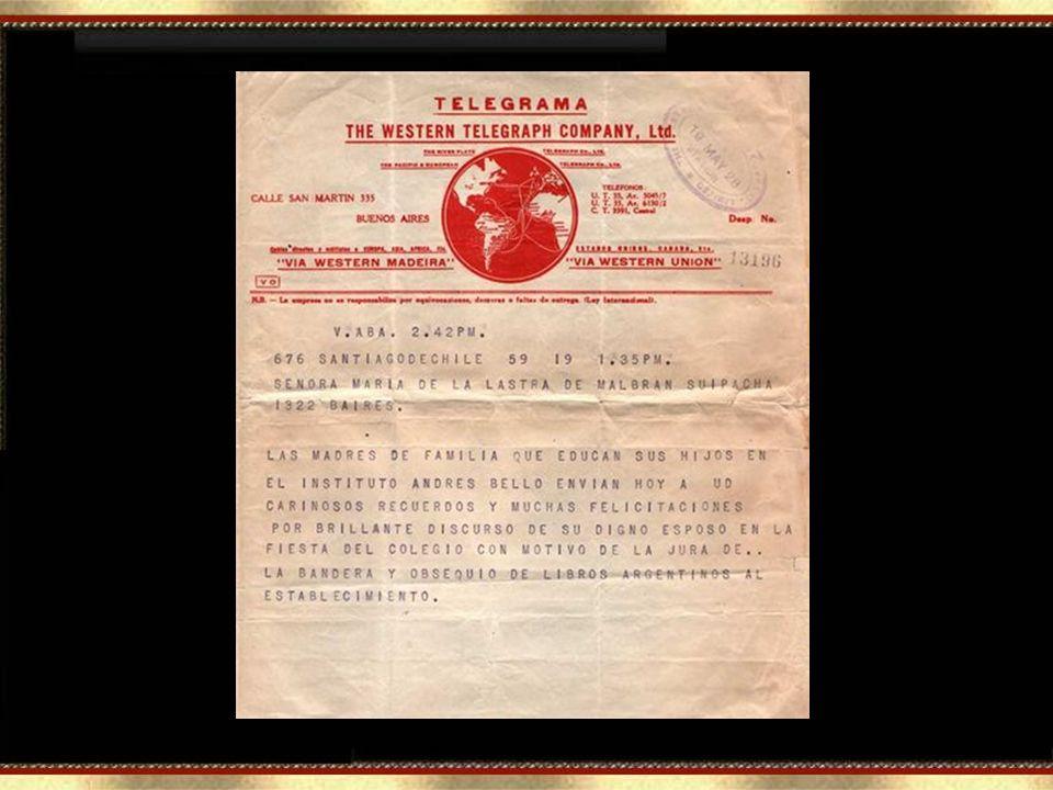 EXEMPLAR DE TELEGRAMA WESTERN (Rubricado: W. Pacheco). Uma equipe de funcionários da Western, entre eles meu pai Walter Pacheco, transmitia e recebia