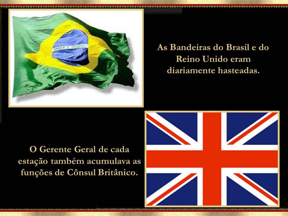 Durante o tempo em que funcionou no Brasil, a Western Telegraph Company recrutava apenas funcionários ingleses para os quatro principais cargos da emp