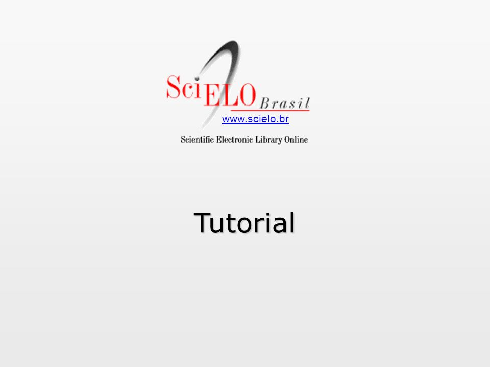 www.scielo.brTutorial